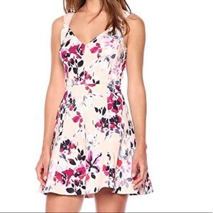French Connection Pink Floral Dress